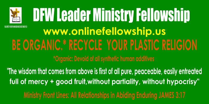 DFW LEADER  MINISTRY FELLOWSHIP